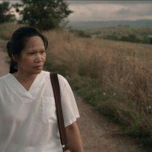 La plaga: Rosemarie Abella in un momento del film