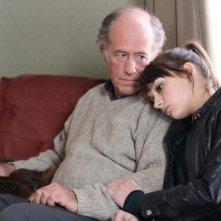 Le démantèlement: Gabriel Arcand in una scena con Sophie Desmarais