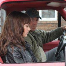 Le démantèlement: Gabriel Arcand insieme a Sophie Desmarais in una scena