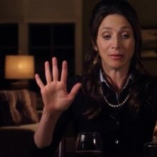 Marin Hinkle in una scena di Geography Club