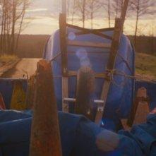 Prince Avalanche: Emile Hirsch in una scena del film