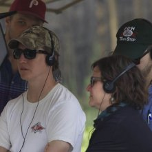 Prince Avalanche: il regista David Gordon Green sul set