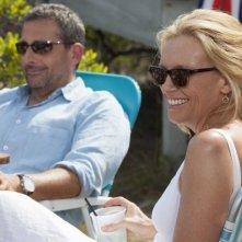 Steve Carell con Toni Collette in una scena di C'era una volta un'estate
