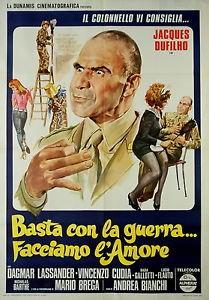 Basta Con La Guerra Facciamo L Amore La Locandina Del Film 292824