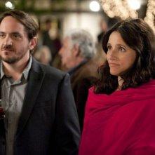 Enough Said: Ben Falcone con Julia Louis-Dreyfus in una scena