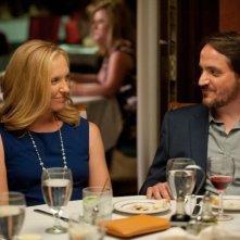 Enough Said: Toni Collette con Ben Falcone in una scena
