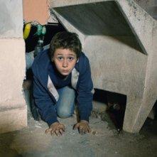Il bambino cattivo: Leonardo Della Bianca in un momento della fiction Rai