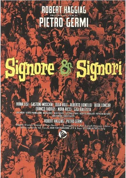 Signore Signori La Locandina Del Film 292833