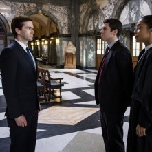The Escape Artist: David Tennant in una scena della miniserie