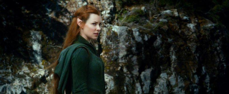 The Hobbit La Desolazione Di Smaug Evangeline Lilly E Tauriel In Una Scena 292776