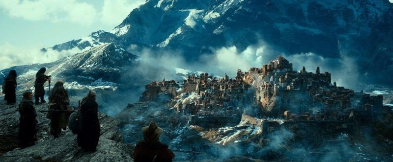 The Hobbit La Desolazione Di Smaug Una Scena Panoramica Del Film 292773