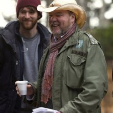 The Husband: il regista Bruce McDonald sul set del film