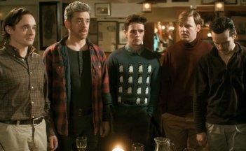 The stag: una scena di gruppo tratta dalla commedia