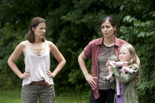 The Walking Dead Audrey Marie Anderson Alanna Masterson E Meyrick Murphy Nell Episodio L Esca 292716