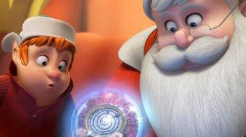 Il segreto di Babbo Natale: una colorata scena tratta dal film animato