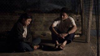 Qui e là: un'immagine del film