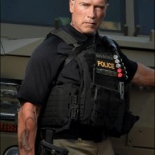 Sabotage: un'immagine di Arnold Schwarzenegger in costume