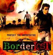 Border Lost: la locandina del film