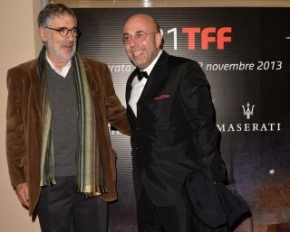 Elliott Gould al 31° Torino Film Festival insieme al direttore Paolo Virzì
