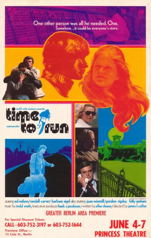 Time To Run La Locandina Del Film 293516