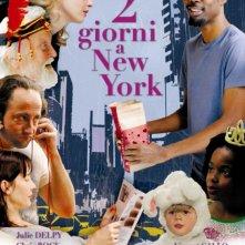 2 giorni a New York: la locandina italiana
