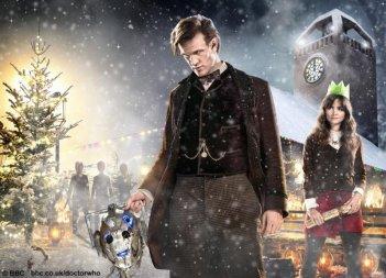 Doctor Who: un'immagine promozionale per l'episodio natalizio The Time Of The Doctor