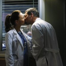 Grey's Anatomy: Justin Chambers e Camilla Luddington nell'episodio Somebody That I Used to Know