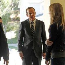 Agents of S.H.I.E.L.D.: Clark Gregg, Mickey Maxwell e Laura Seay nell'episodio Repairs