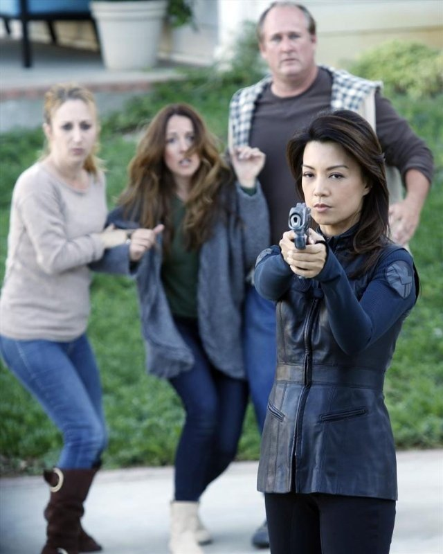 Agents Of S H I E L D Ming Na Nell Episodio Repairs 293692
