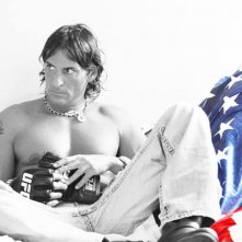 Claudio Del falco in M.M.A.nuovi guerrieri - una immagine promo