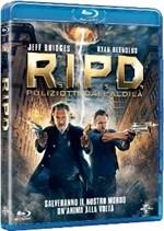 La Copertina Di R I P D Poliziotti Dall Aldila Blu Ray 293674