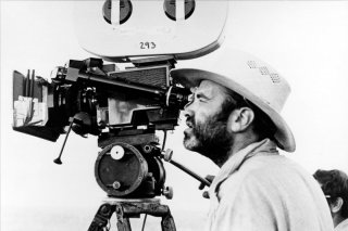 Terrence Malick sul set
