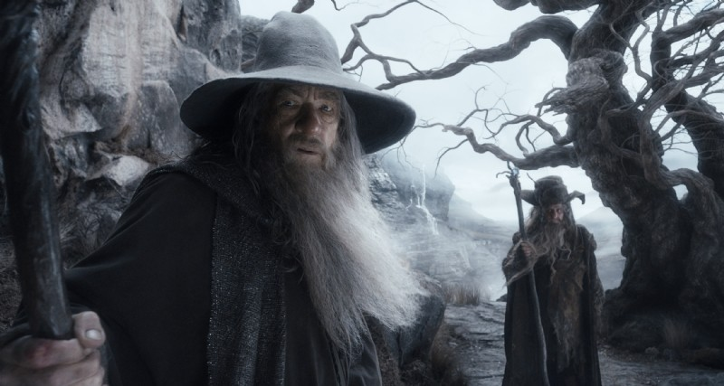 The Hobbit: La desolazione di Smaug - Ian McKellen interpreta un preoccupato Gandalf