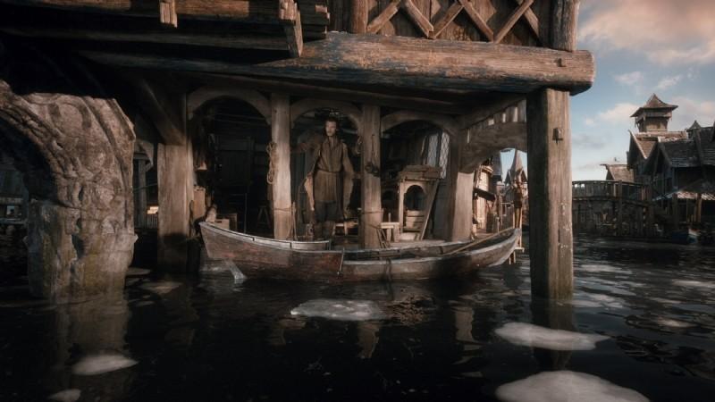 The Hobbit The Desolation Of Smaug Luke Evan In Una Scena Del Film 293637