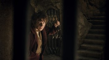 The Hobbit: The Desolation Of Smaug - Martin Freeman tiene un mazzo di chiavi in mano