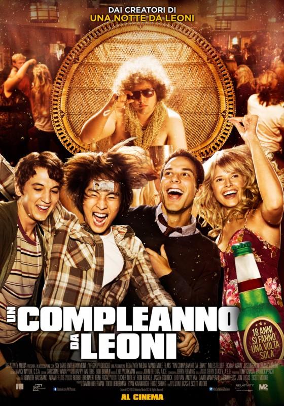 Un Compleanno Da Leoni La Locandina Italiana 293717