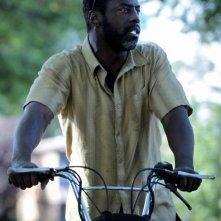 Blue Caprice: Isaiah Washington con la sua moto
