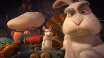 Il castello magico: il topolino e il coniglio sembrano arrabbiati