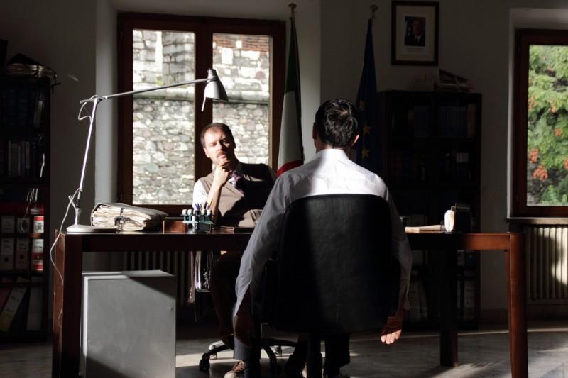 Vinodentro Pietro Sermonti E Vincenzo Amato In Una Scena Del Film 293844