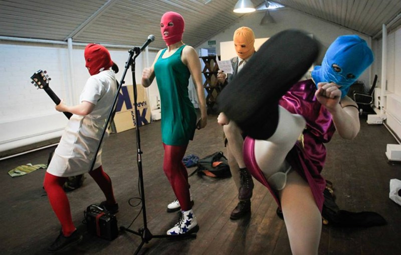 Pussy Riot A Punk Prayer Un Immagine Tratta Dal Film 293986