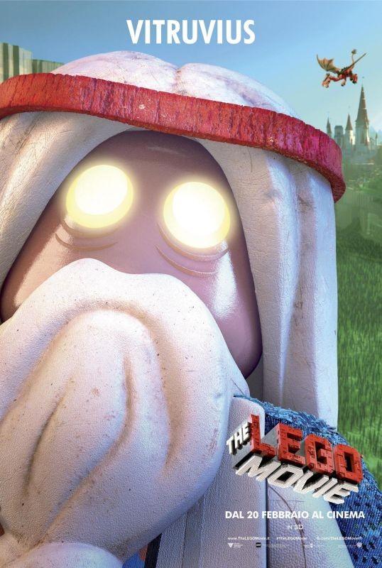 The Lego Movie Il Character Poster Italiano Di Vitruvius 293948