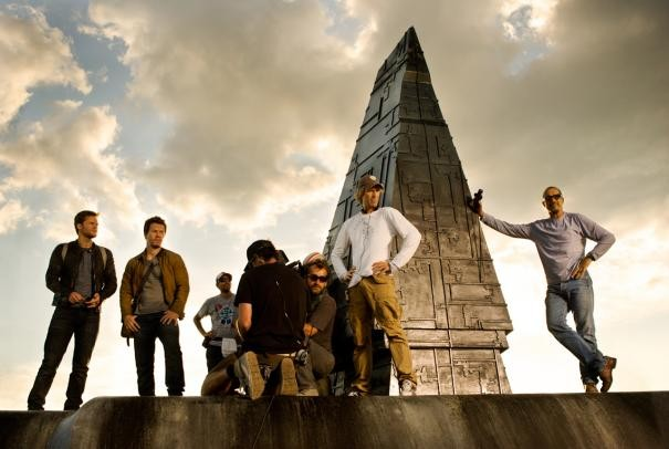 Transformers Age Of Extinction Mark Wahlberg Jack Reynor Il Regista Michael Bay E Il Resto Del Cast  293931