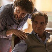 Un fantastico via vai: Leonardo Pieraccioni in una scena con Giorgio Panariello