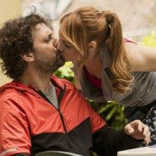 Un fantastico via vai: Leonardo Pieraccioni in una scena del film bacia Chiara Mastalli