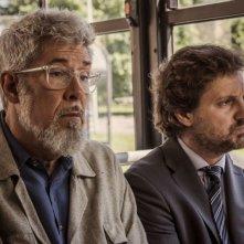Un fantastico via vai: Leonardo Pieraccioni in una scena del film con Alessandro Benvenuti