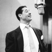Don Ameche al microfono