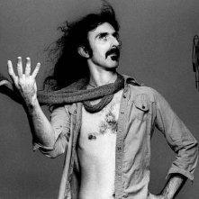 Frank Zappa in un ritratto ironico