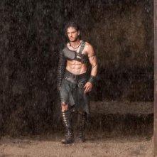 Pompeii: Kit Haringston sotto la pioggia