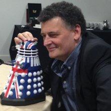 Steven Moffat alla Doctor Who Official 50th Celebration