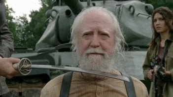 The Walking Dead: Scott Wilson nell'episodio Indietro non si torna